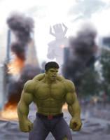 Incredible Hulk by SchneeKatze09