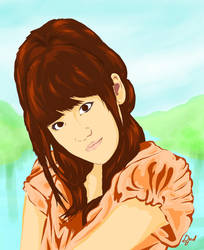 Takahashi MInami AKB48 by Blegedjod