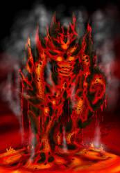 Lava Monster by Blegedjod