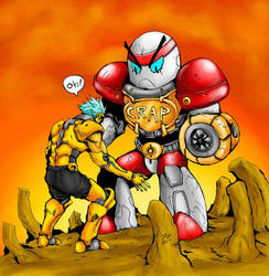 Robot Indonesia to ndesss... by Blegedjod