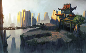 Kung Fu Panda Wii concept by Benef
