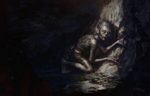 Gollum's Journey Commences by Benef