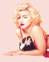 Madonna Rock The Vote by scrawnyfella