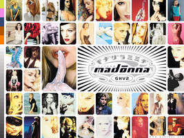 Madonna GHV2 Collage by scrawnyfella