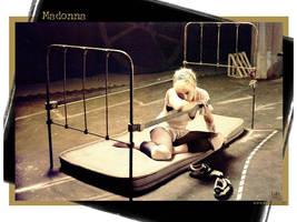 Madonna Bedframe by scrawnyfella
