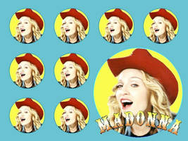 Madonna Multiple Music by scrawnyfella