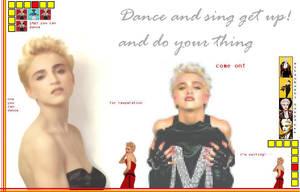 Madonna Dance and Sing... by scrawnyfella