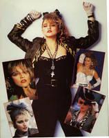 Madonna Then 1985 by scrawnyfella