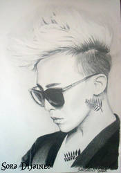 [G-DRAGON] BIGBANG by SoraDijaineo