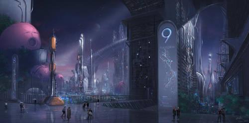 Platform 9 by EmilisB