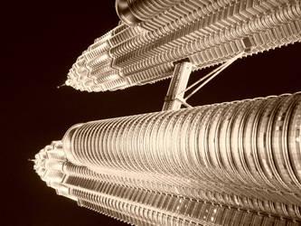 Petronas Twin Tower - Art 2 by Talk3talk4