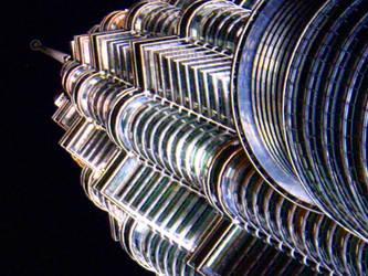 Petronas Twin Tower - Art 5 by Talk3talk4