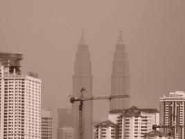 The Petronas Twin Towers. by Talk3talk4