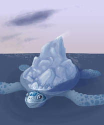Iceberg by lizcakes