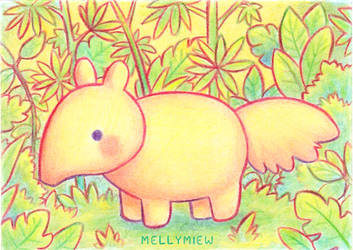 Anteater by Mellymiew