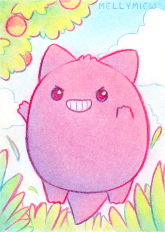 Gengar by Mellymiew