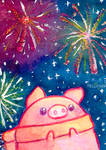 Fireworks by Mellymiew