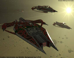BABYLON 5 - Narn-Raid by ulimann644