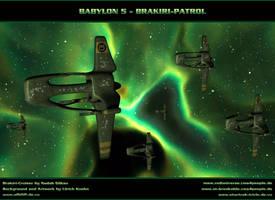 BABYLON 5 - BRAKIRI-FLEET by ulimann644