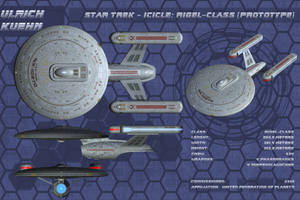 STAR TREK - ICICLE: RIGEL-CLASS Orthos by ulimann644