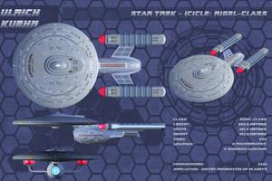 STAR TREK - BREAKABLE: RIGEL-CLASS Orthos 02 by ulimann644