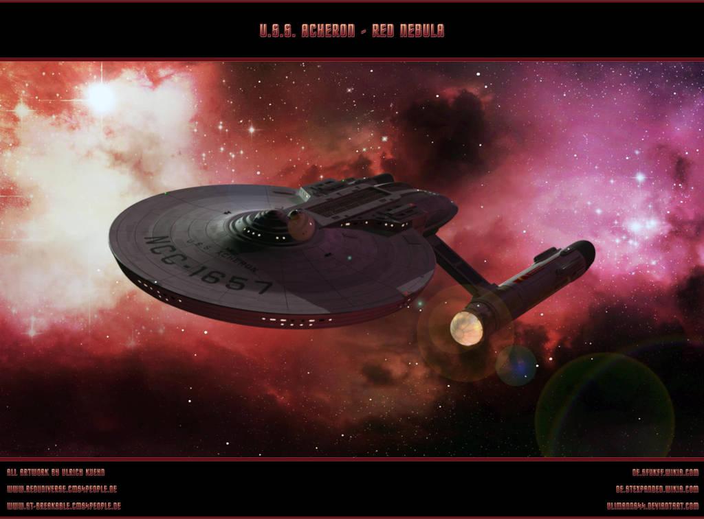 STAR TREK - U.S.S. ACHERON: RED NEBULA by ulimann644