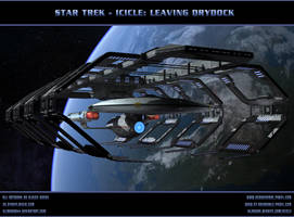 STAR TREK - ICICLE: Leaving Drydock by ulimann644