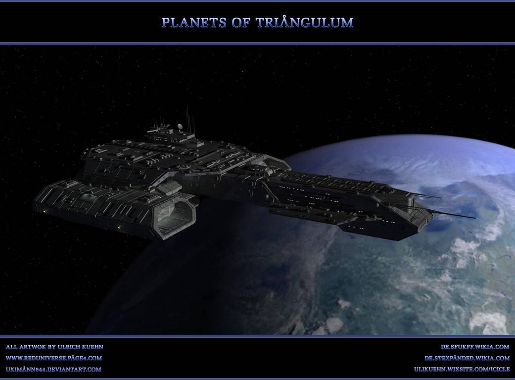 STARGATE-ATLANTIS: Planets of Triangulum by ulimann644