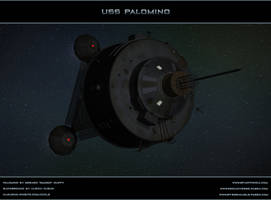 THE BLACK HOLE: USS PALOMINO by ulimann644