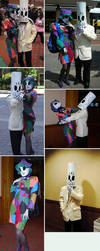 Manny+Meche cosplay by GrimFandangoFans