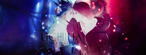 Sasuke and Itachi Uchiha. by Zeretsune