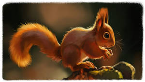 Squirrel Study by FancyPancakes
