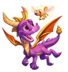 New Spyro by FancyPancakes