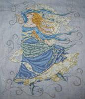 Air Goddess Cross Stitch by Tishounette