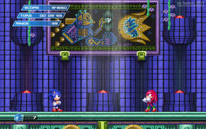 Sonic 3 Hidden Palace Zone HD by Nerkin