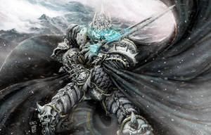 Wrath of the Lich King by Nerkin
