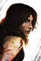 Lara Croft by Nerkin