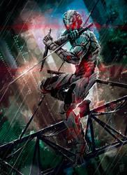 Ninja Assassin by Nerkin