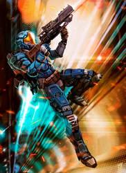 Super Commando by Nerkin