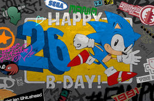 Happy B-Day Sonic! by Nerkin