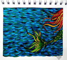 Sirena (poema de Mario Benedetti) by haruwen
