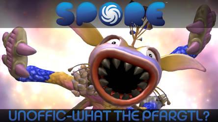 Spore UGS Title Card: What The Pfargtl? by GBAura