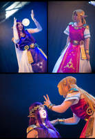 Hilda And Zelda (LBW) - Stagefight by Gwan-chan