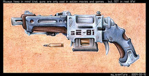 Just a gun by Dillerkind