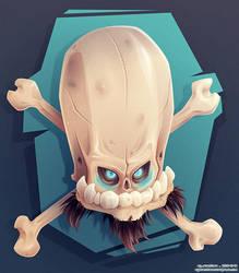 Bonehead 0023 by Dillerkind