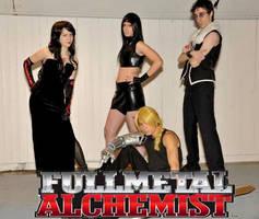 Fullmetal Alchemist Band by Mitsuko-Vicious