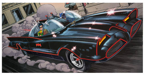 1966 Batmobile by darklord1967
