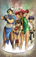 Street Fighter CLR's Red by kashdv8