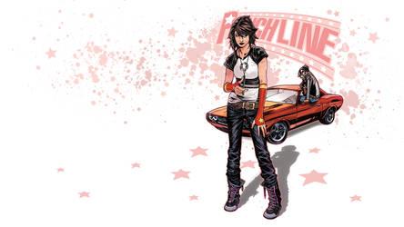 Punchline Comic WALLPAPER by kashdv8
