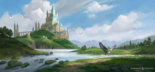Dungeons and Dragons: Landscape by LeeshaHannigan